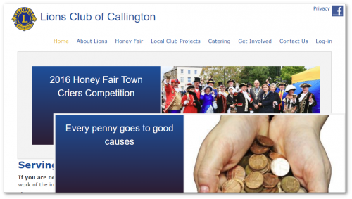 Callington Lions website