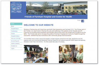 Friends of Farnham Hospital website