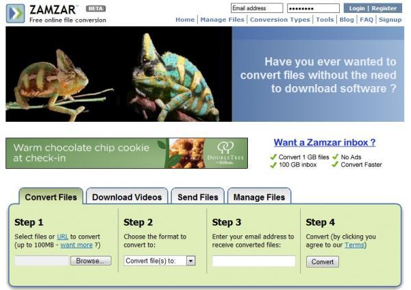 zamzar website